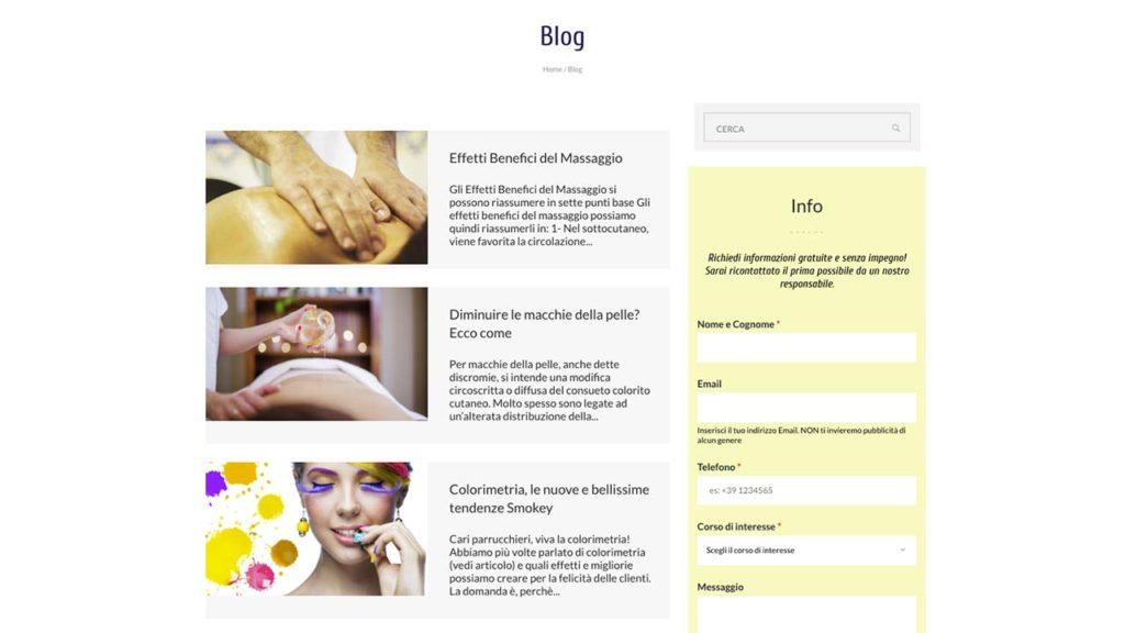 Ecole Maxim Sezione Blog