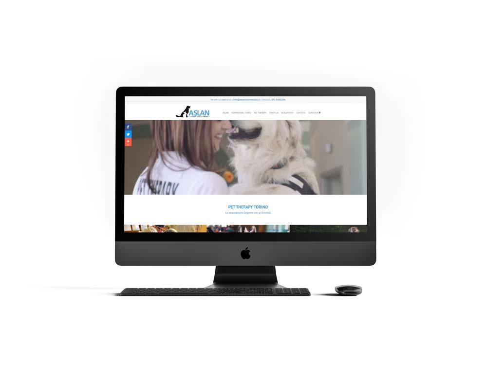 Restyling Sito web Associazione Aslan
